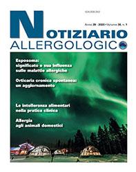 notiziario allergologico vol. 38 n.2 cover