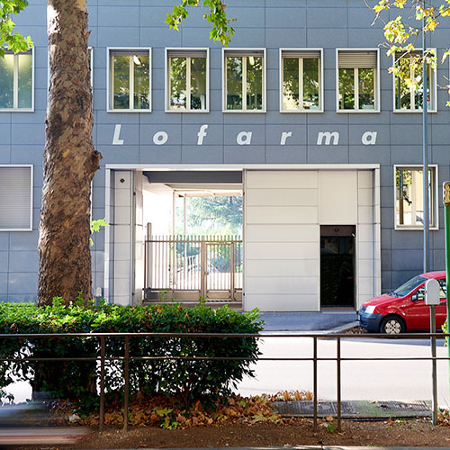 sede Lofarma spa Milano Italia