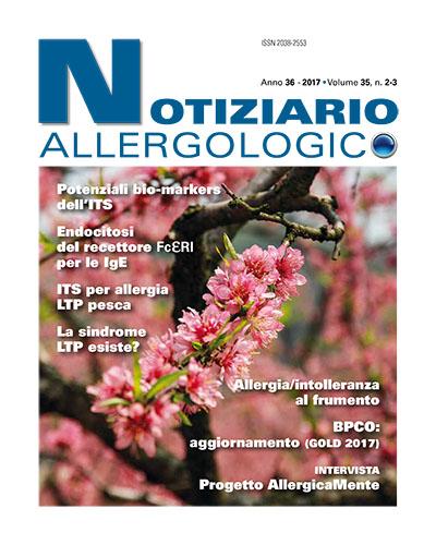 notiziario allergologico vol 35 2-3