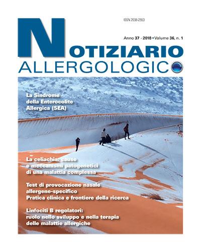 notiziario allergologico vol 36 1