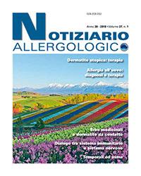 notiziario allergologico vol 37 1 cover